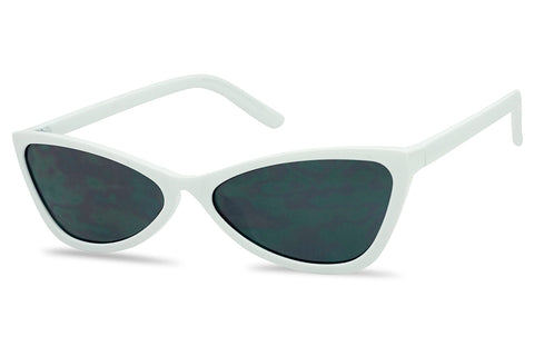MODERN SLEEK ROUND BOW-TIE SUNGLASSES
