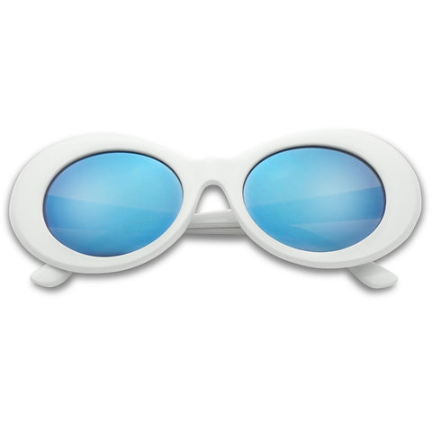 1990'S CLOUT OVAL SUNGLASSES