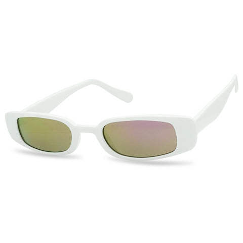 90's NARROW SMALL RECTANGULAR SUNGLASSES