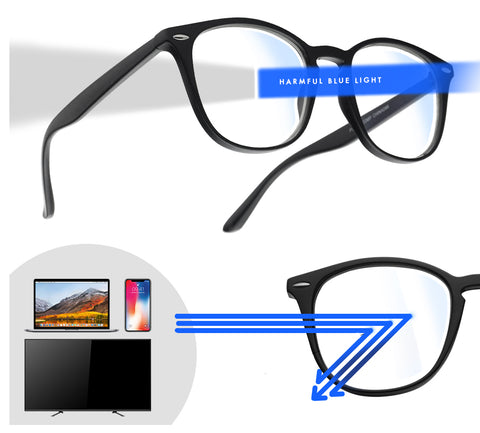 [FREE] Gaming glasses with Blue light Blocking lens for PC's, Mobile, and Television screens