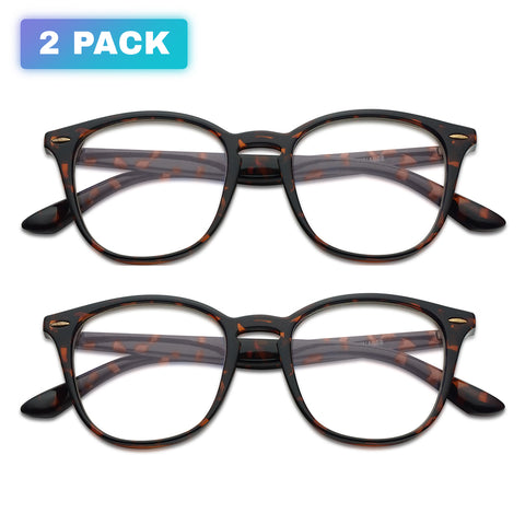 (2 FOR 1 PACK) Blue light blocking glasses for Children on Computers, Smart phones, Video Gaming,  Television and Tablets