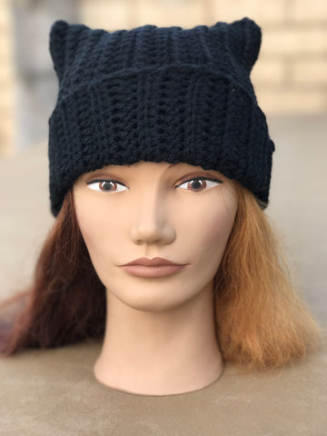 "Kitty Cat Hat ""Beauty"""