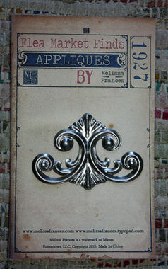 CAPRI METAL APPLIQUE by Melissa Frances