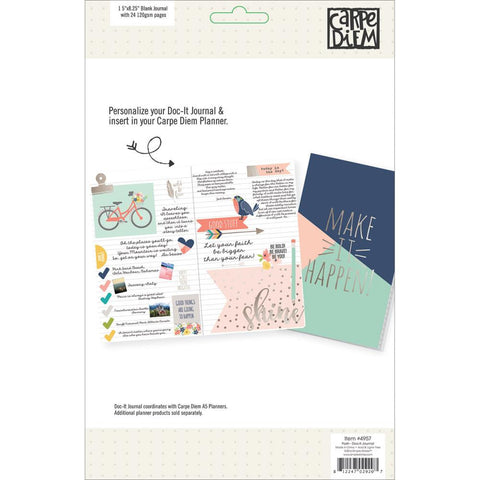 Posh Doc-It Journal 24 Pages Make It Happen