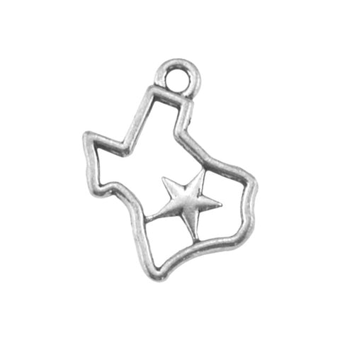 Texas State Charm with Cell Phone Loop