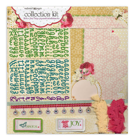 Websters Pages - Winter Fairy Tales Collection - 12 x 12 Paper Sampler Kit