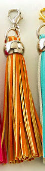 Orange Tassel Charm - Websters Pages