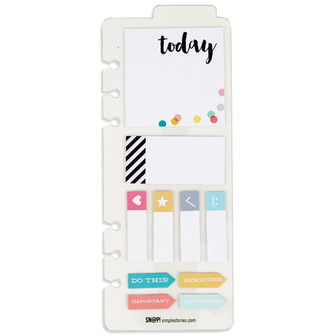 Sticky Notes Bookmark Carpe Diem Planner by Simple Stories
