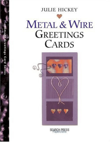 Metal and Wire Greetings Cards (Handmade Greetings Card) CLEARANCE