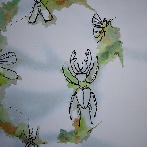Creepy Crawlies Print - Unico Art