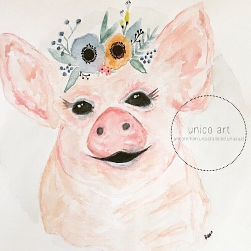 Piggy - Print - Unico Art