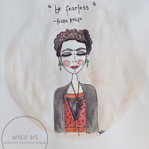 Frida - Print - Unico Art