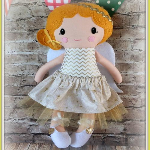 Angel Doll - boy or girl - handmade in Australia