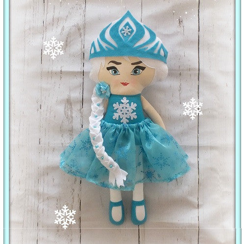 Elsa doll (Frozen inspired)