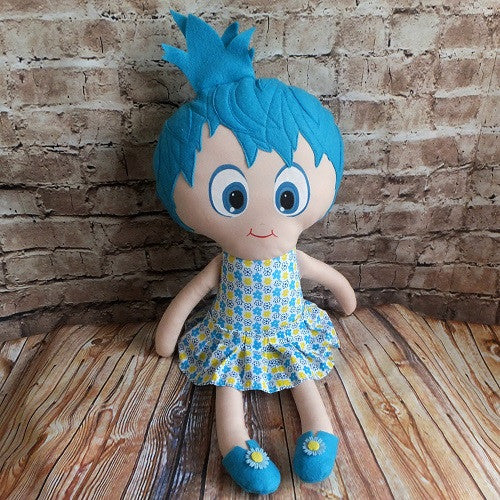 Softie - Joy from Inside Out - handmade