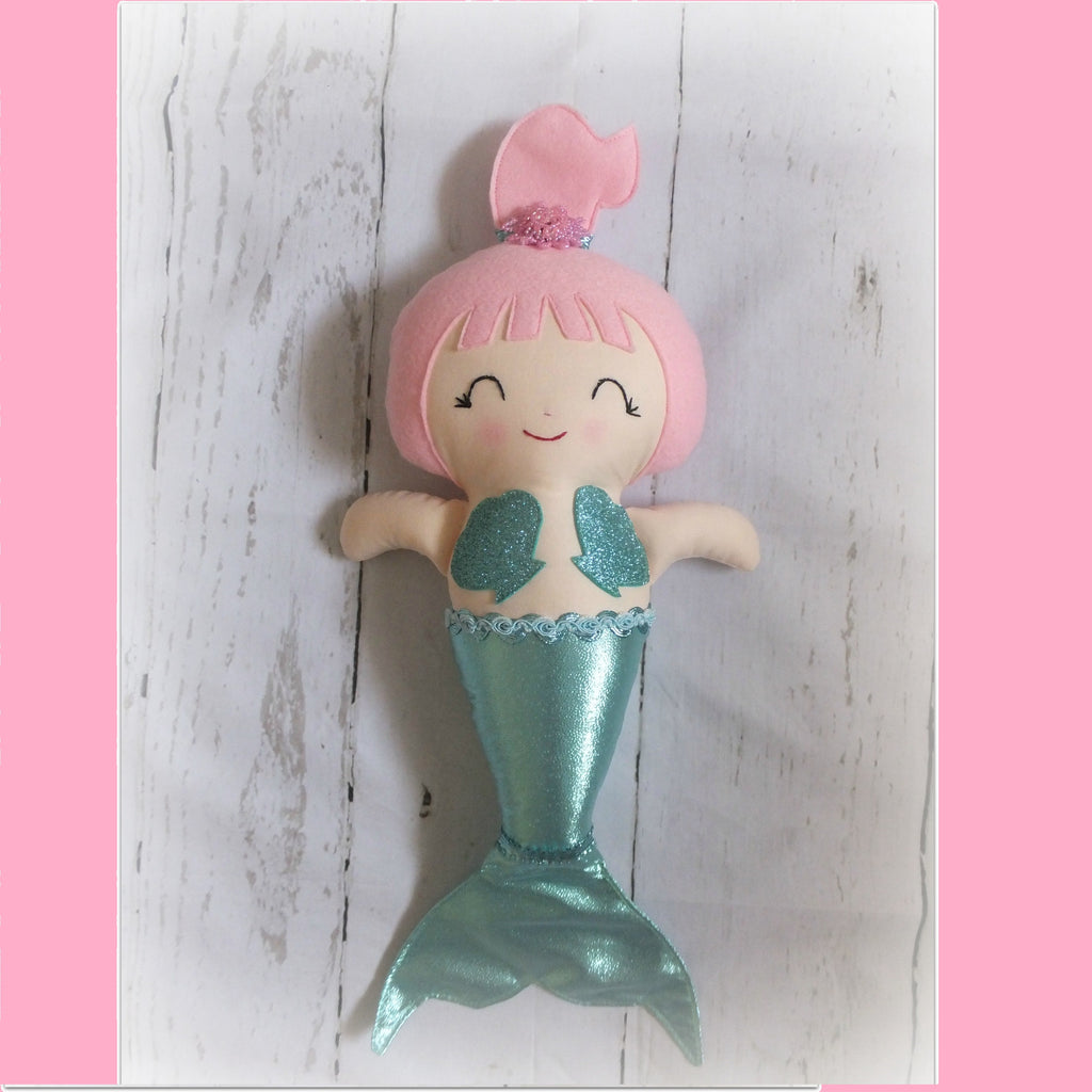 Mermaid Softie - handmade in Australia