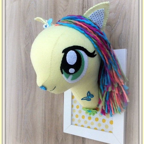 Faux Animal Head - Handmade in Australia - My Little Pony Inspired