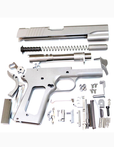 "911 80% BUILD KIT 5"" GI .45 ACP FORGED 416R W/SMOOTH GRIP NOVAK SIGHTS W/MACHINE GRADE BILLET PARTS"