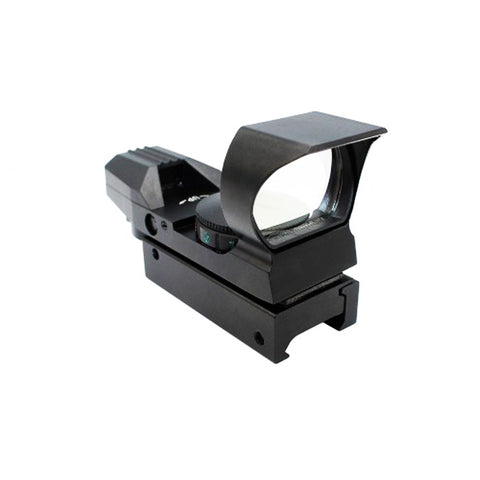 Illuminated 4 reticle Red & Green Interchangable Dot Sight for AR-15.