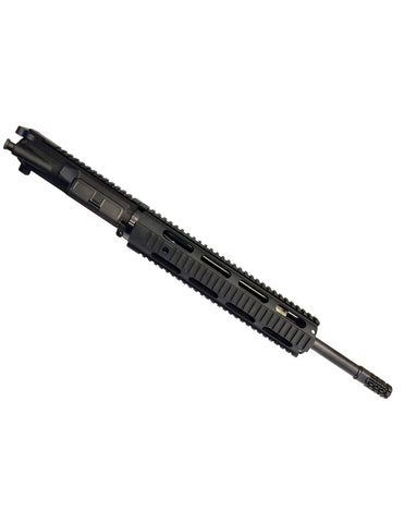 "AR-15 Complete Upper - 16"" Carbine Length 5.56 NATO Barrel w/ 1:7 Twist - 12"" Free Float Quad Rail Handguard + 5.56 Black Nitride BCG"