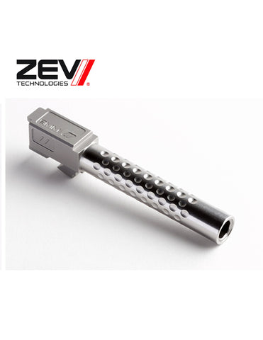 ZEV Technologies Barrel Replacement G17, Dimpled Uncoated