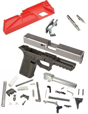 GLOCK 17 Complete Builders Kit with Polymer80 PF940v2 Frame