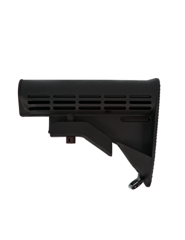 M4 Mil Spec Stock | AR15 | Collapsable | Black