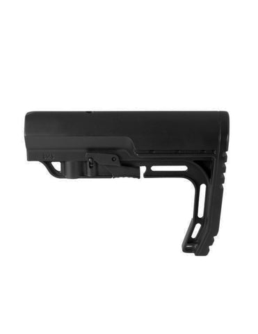 MFT Battlelink Minimalist Stock Mil Spec Tube, Std Hardware, Black (BMSMILBK)