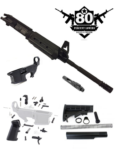 "80% 16"" MOE RIFLE KIT - BUILT UPPER"