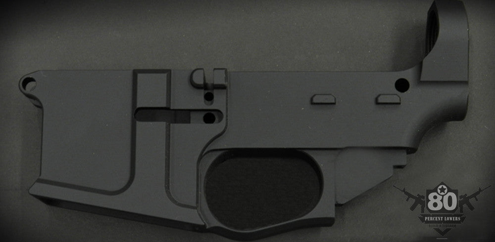 AR-15 80 percent lower receiver
