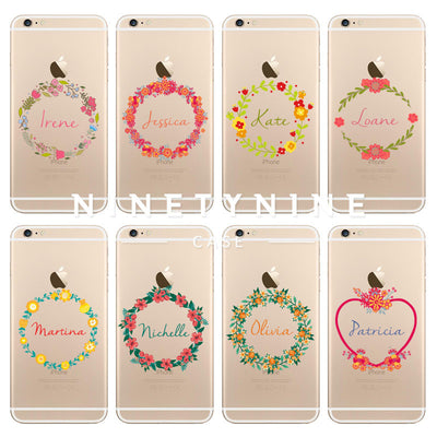 Floral Wreath I