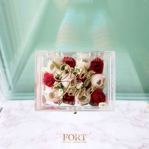Rose Ring Bearer Box