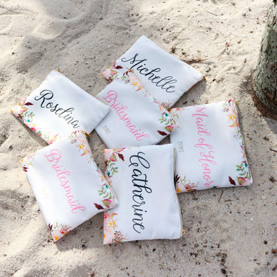 Personalized Pouch 6-10 Bridesmaids