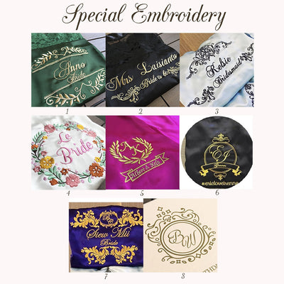Robes Special Embroidered