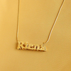 3D Necklace Gold 4-8 Bridesmaids