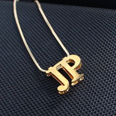 3D Necklace Gold