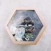 Hexagon Floral Ring Bearer Box