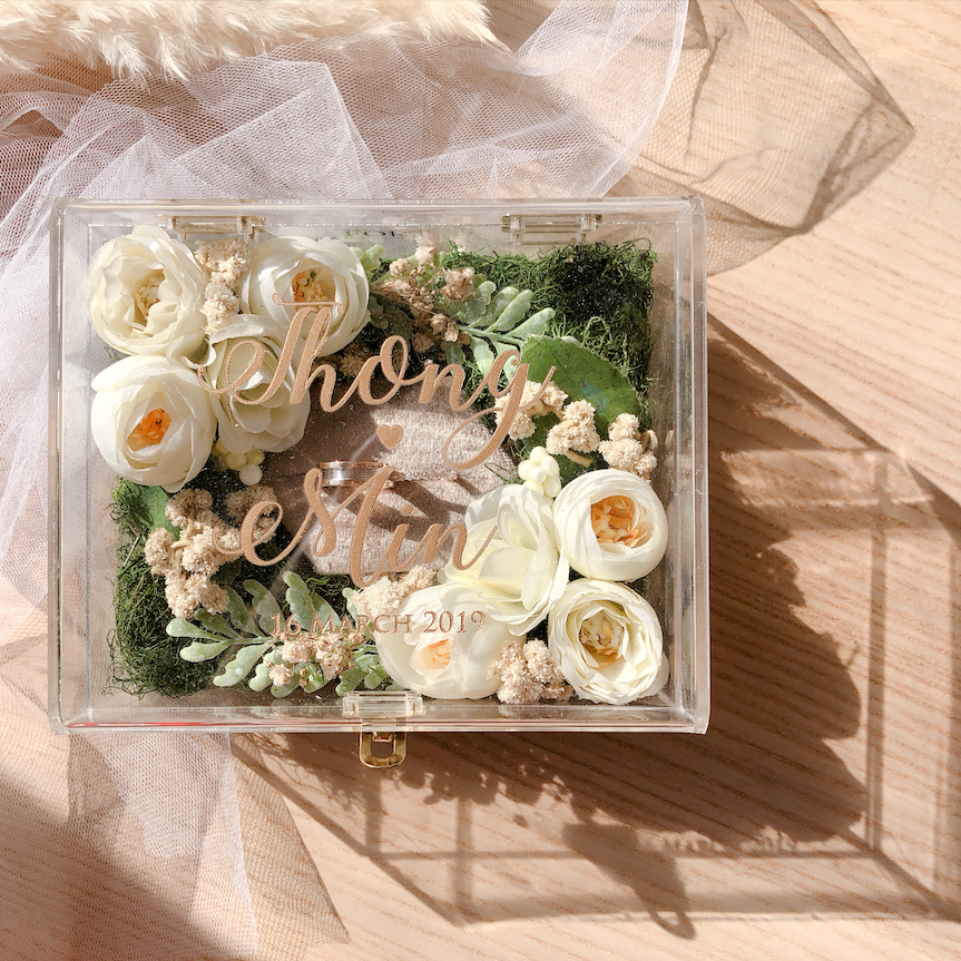 Wedding Ring Bearer Box Ninetyninecase