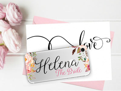 Roselina Bridesmaid Phone Case Set