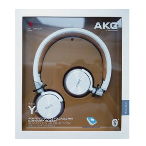 AKG Y45BT Bluetooth Headset (White)
