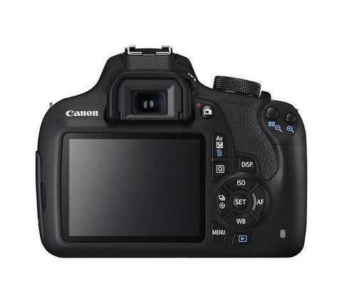 Canon EOS 1200D Kit with EF-S 18-55mm III Lens Black Digital SLR Camera