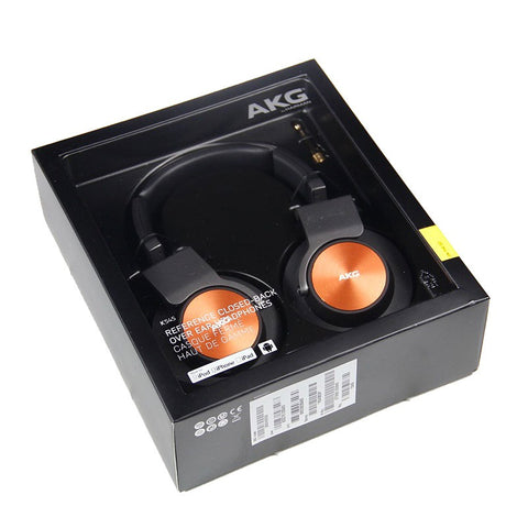 AKG K545 Over-Ear Headphone (Black/Orange)