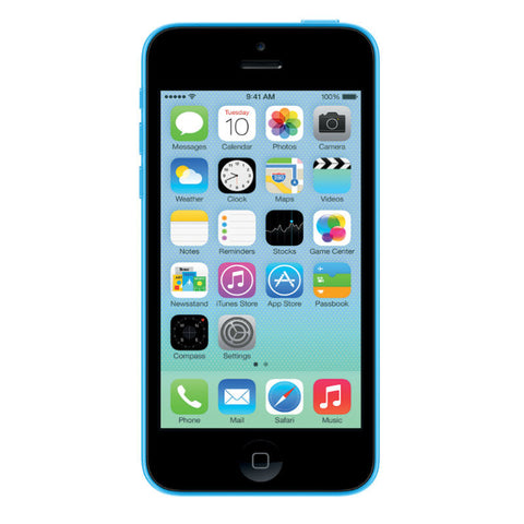 Apple iPhone 5C 16GB 4G LTE Blue Unlocked (Refurbished- Grade A)
