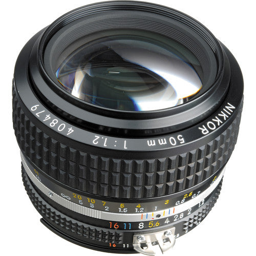 Nikon Nikkor AIS 50mm f1.2 Manual Focus Lens