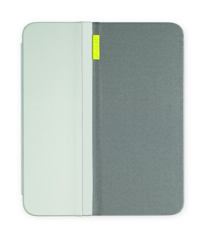 Logitech AnyView Folio with Any Angle Stand Tablet Cover for iPad Mini / Mini 2 / Mini 3 Pale Grey