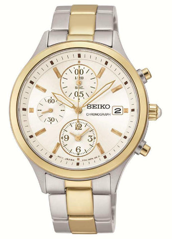 Seiko Conceptual Chronograph SNDX08P1 Watch (New with Tags)