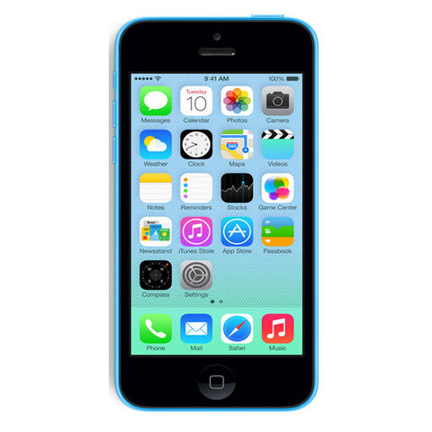 Apple iPhone 5C 16GB 4G LTE Blue Unlocked
