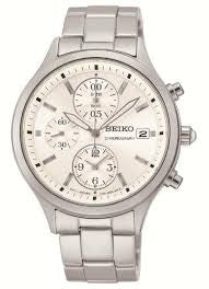 Seiko Conceptual Chronograph SNDX11P1 Watch (New with Tags)