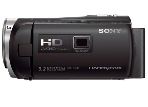 Sony HDR-PJ340E Flash Memory HD Black (PAL) Video Camera and Camcorders