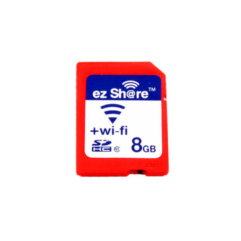 EZ Share Wireless Transmission 8GB SDHC Memory Card Orange (Wi-Fi, Class 10)